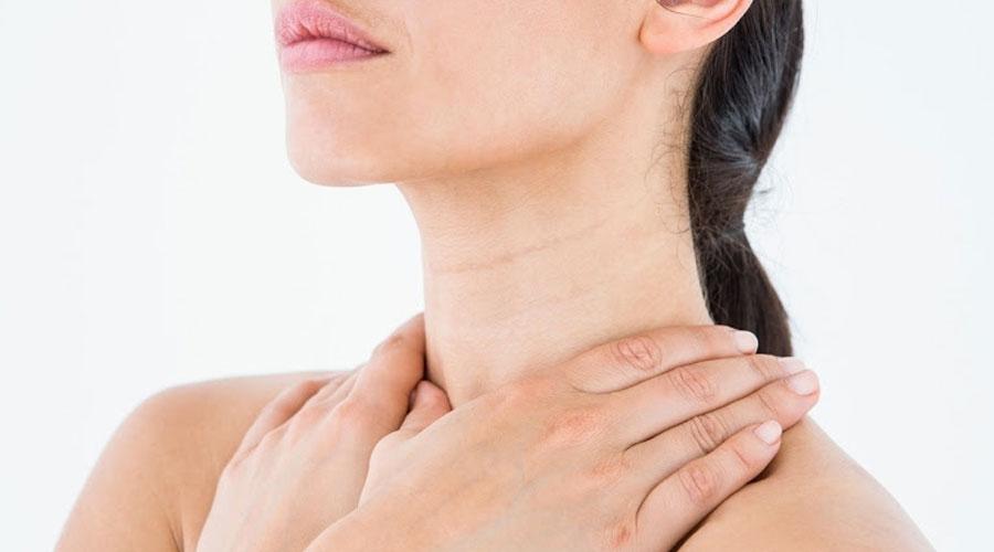 Arrugas del cuello